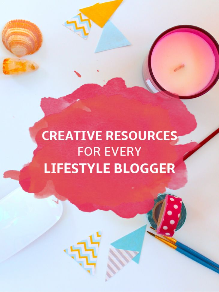 Too Creative Resources for Lifestyle Bloggers featuring @heartandarrow1 @jototes & more!