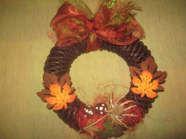 Podzimní věnec pro Helču