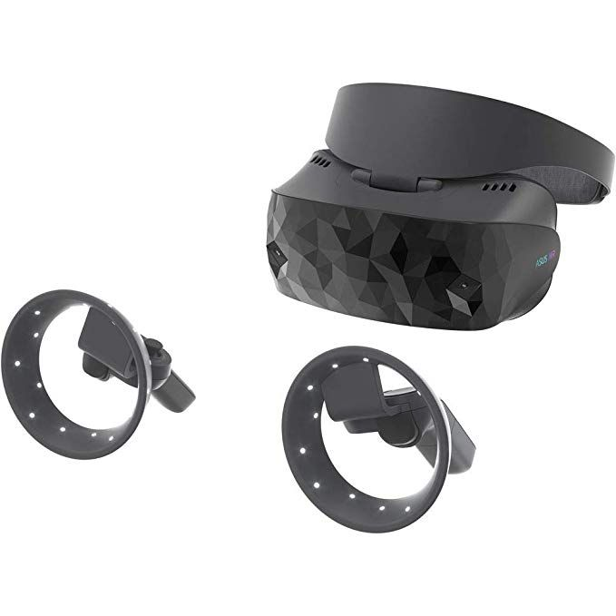 Asus Windows Mixed Reality Headset Hc102 With Two Motion Controllers 2880 X 1440 90hz 6dof Windows Mr Asus Headset Wearable Technology