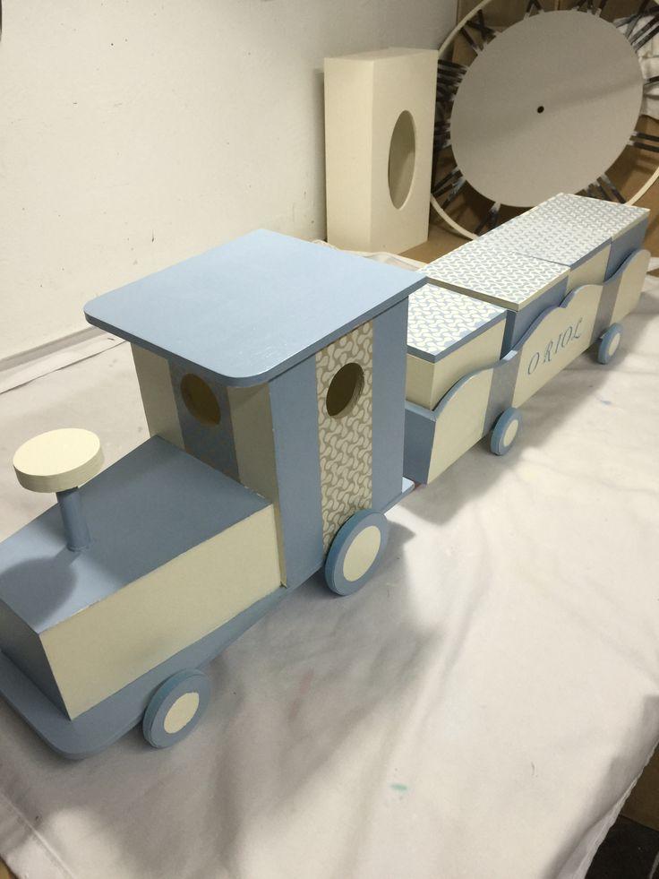 17 mejores ideas sobre tren de madera en pinterest - Cajon para juguetes ...