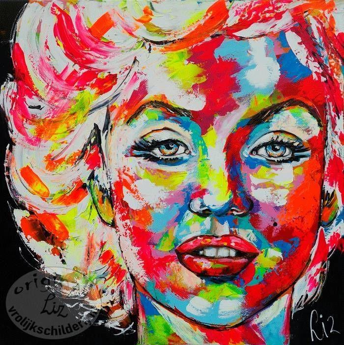 Citaten Van Marilyn Monroe : Beste afbeeldingen van zenon schilderijen busjes pop