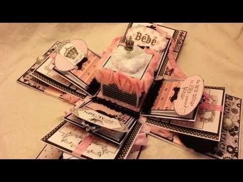 Teresa Collins Bebe Explosion Box - YouTube