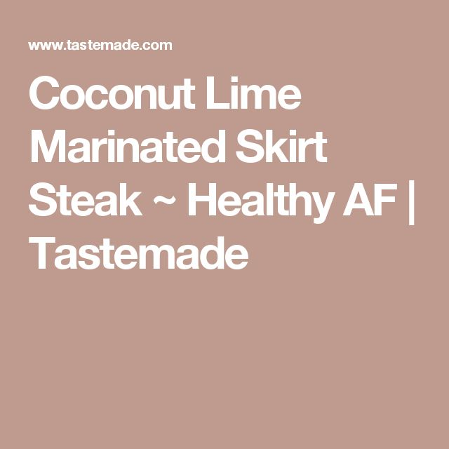 about Marinated Skirt Steak on Pinterest | Skirt Steak Recipes, Steak ...