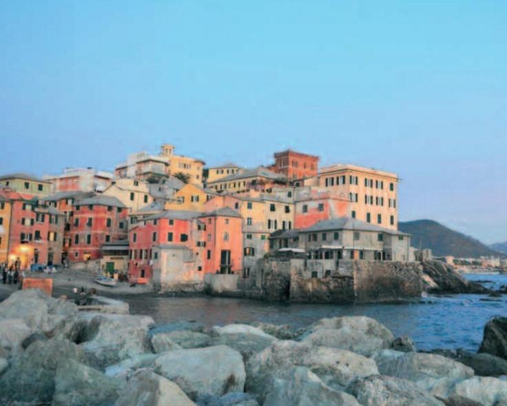 Boccadasse, Genova, Italy