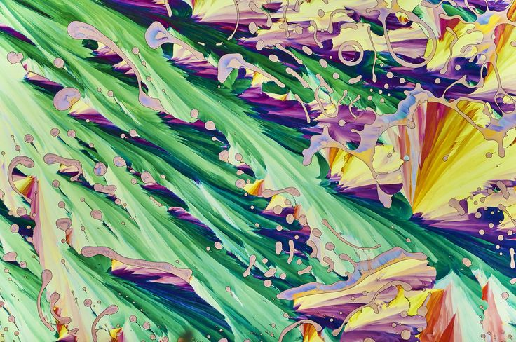Green Torrents (Taurine and Beta Alanine in polarized light)