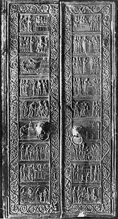 Drzwi Gnieźnieńskie (brąz, 18 scen)