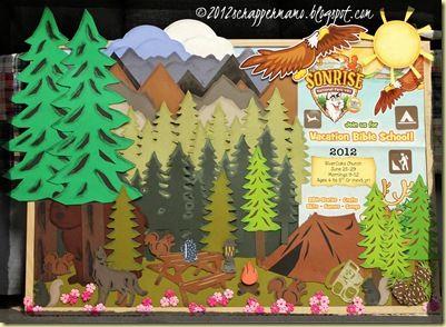 Bulletin Board for 2012 VBS