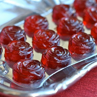 """Rose jello shots... for a """"Bachelor"""" viewing party... guaranteed to make the most dramatic rose ceremony yet!"""