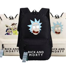 Nieuwe Rick en Morty Rugzak Anime tassen Student oxford Schooltassen ALS Gift(China (Mainland))