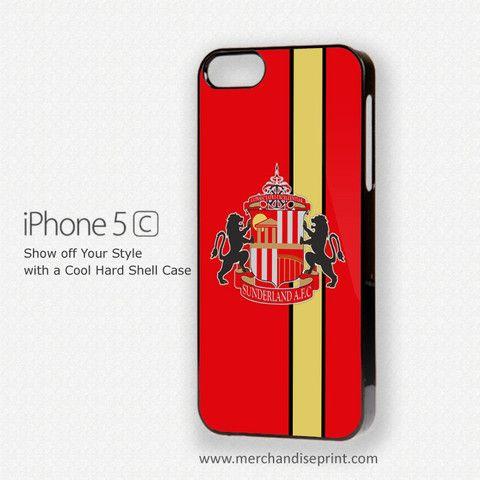 SUNDERLAND ASSOCIATION FOOTBALL CLUB LOGO IPHONE 5C CASE COVER – MerchandisePrint