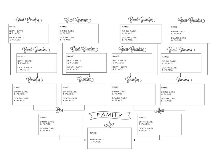 Summer Owens | Photography, Crochet, Food, Crafts and More: Free Printable - Cute Pedigree Chart