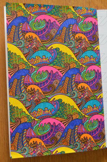 kleurplaten uit kleurboek voor volwassenen