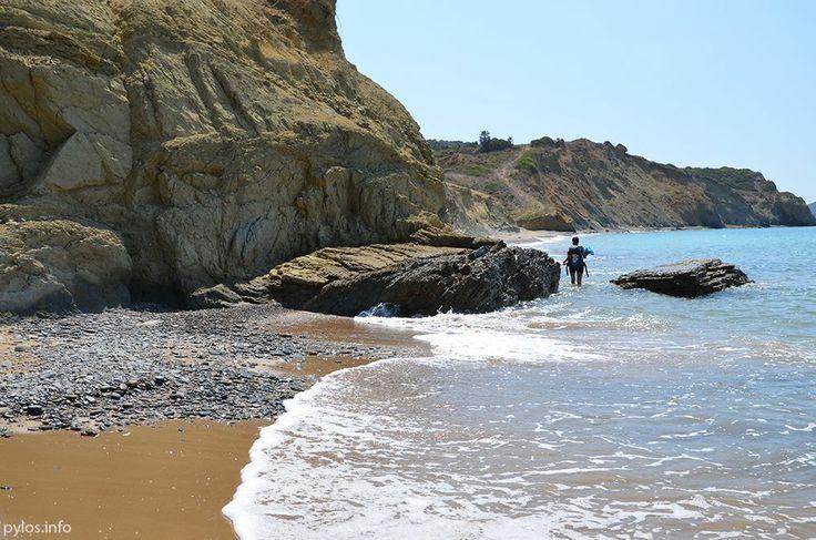 Methoni's beach Methoni, Messinia, Greece http://pylos.info