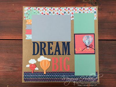 Megumi's Stampin Retreat, Stampin' Up! 2017 Occasions Catalog, Stampin' Up! 2017 Sale-A-Bration Brochure, Lift Me Up Stamp Set, Up & Away Thinlits Dies, Carries Away Designer Series Paper, Stampin' Up! Cupcake Cutouts Framelits, Stampin' Up! Large Letters Framelits