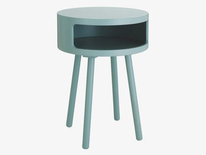 The fun and functional bumble sage grey side table for Functional side table