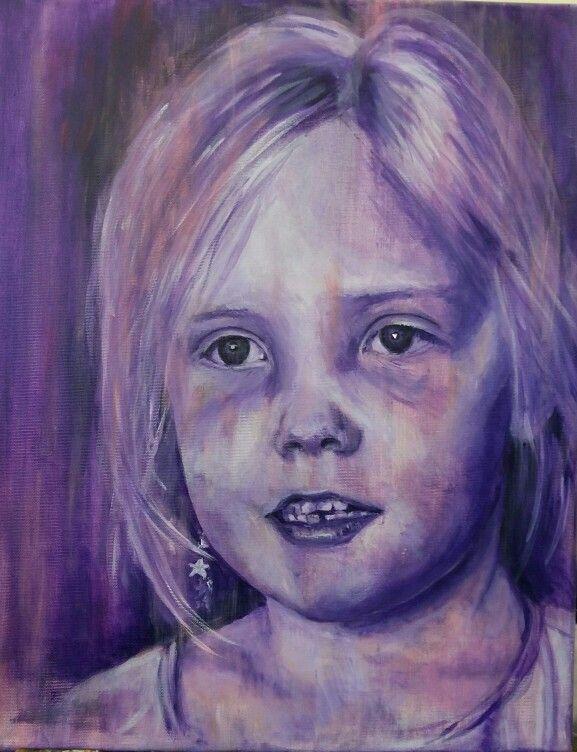 Renske, geschilderd door Marian Plomp