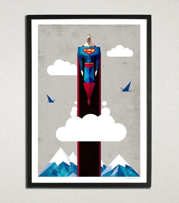 Superman by Ricardo Polo, via Behance