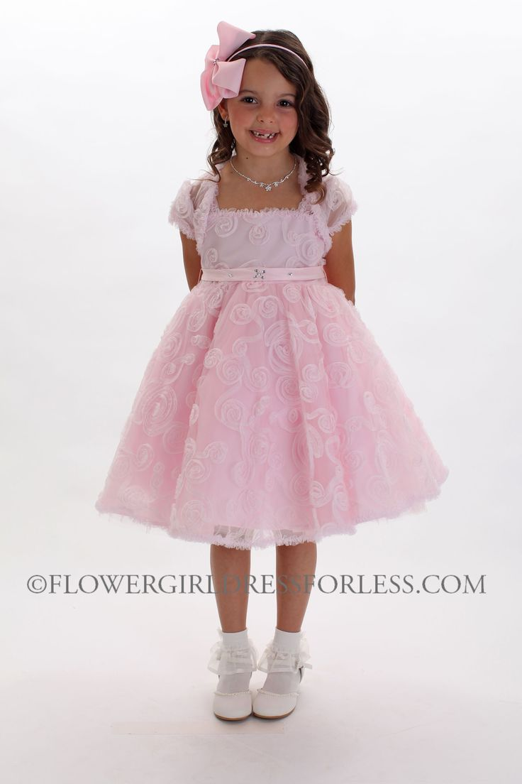 1000  ideas about Pink Dresses For Girls on Pinterest