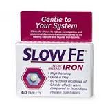 Slow FE Iron Supplement Iron Pills