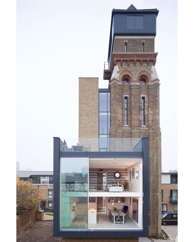 The Water Tower by ACR Architects #LondonUnited Kingdom