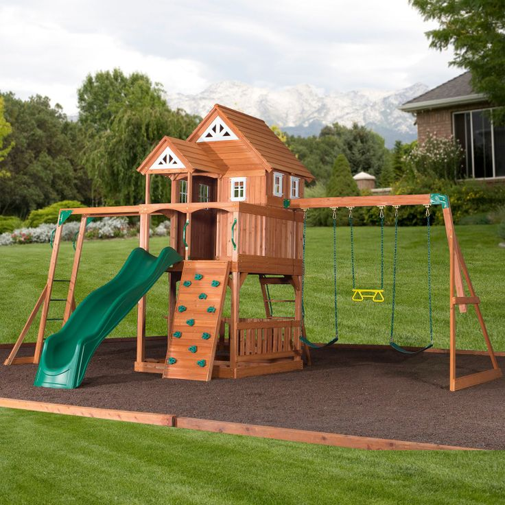 Playhouse Outdoor Landscaping