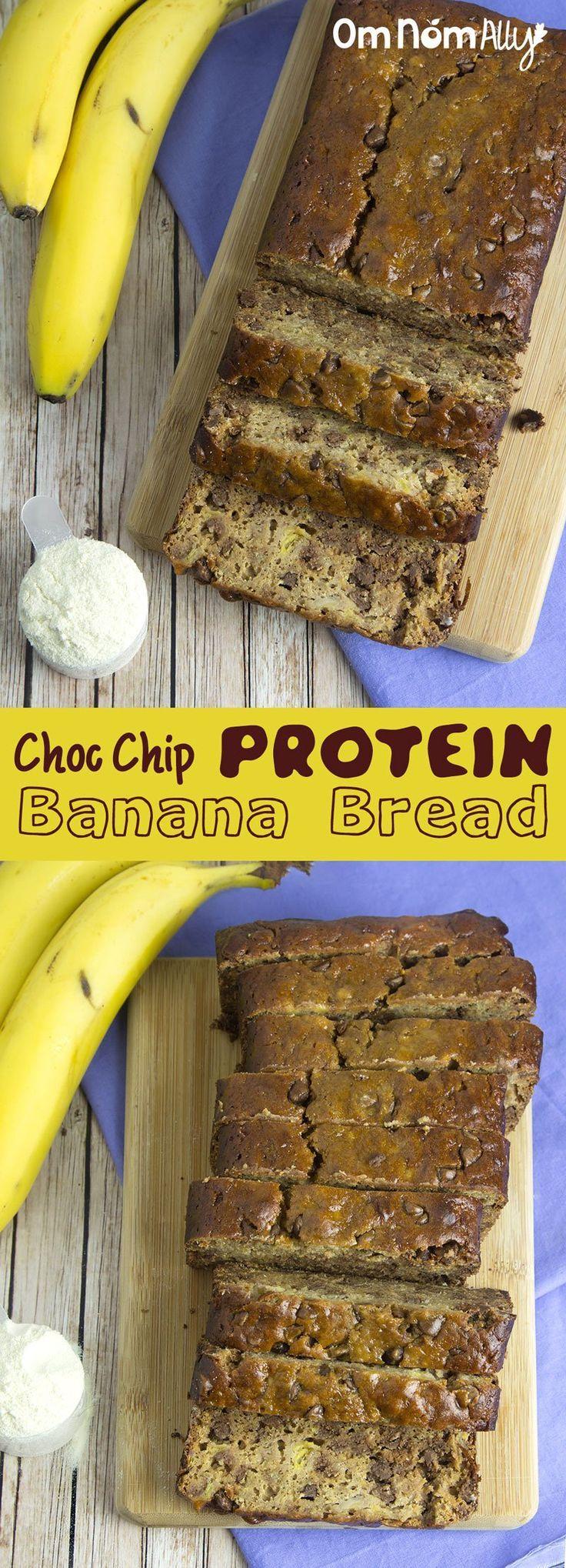 Recipe Redux: Choc Chip Protein Banana Bread ⋆ Om Nom Ally