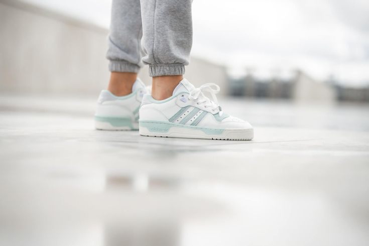Adidas Rivalry Low Cloud White/Green Tint - EF6412 | Sneakers ...