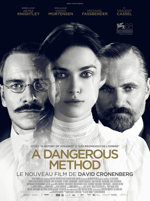 "cinéma canadien : ""A Dangerous Method"" de David Cronenberg, 2011, Freud et Jung"