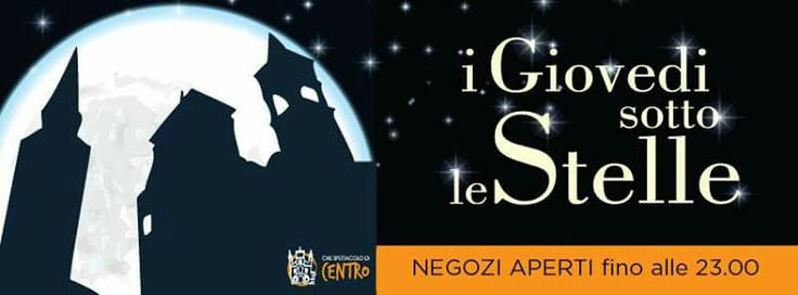 Giovedì sotto le stelle