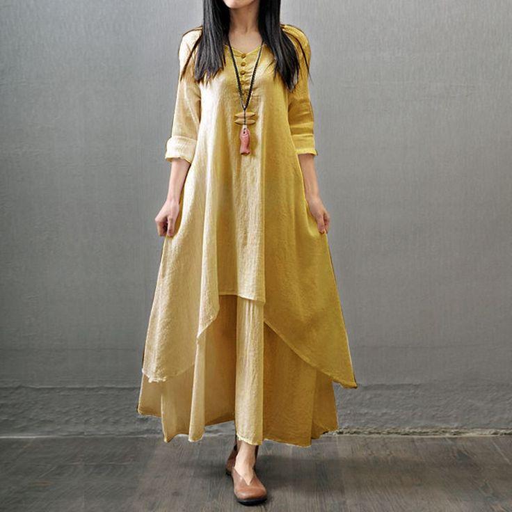 Buy Designer Yellow Kurti online, Latest Designer Yellow Kurti by Vekart…