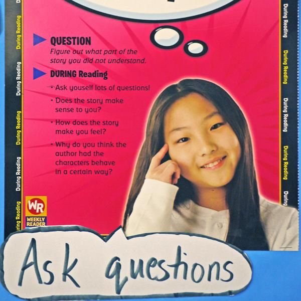 Reading Comprehension Strategies: Think Alouds (Gr. 1-6) - A number of reading comprehension strategies appear regularly in literacy texts and resources, but often with an emphasis on teaching them to emerging readers who are learning them for the first time. This recipe frames these strategies in a way better suited to junior level students, who need to learn to apply them in more sophisticated ways, to more advanced texts.