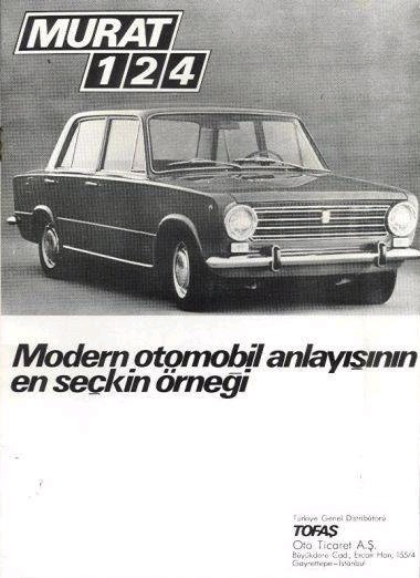 Murat 124 - Most Popular Turkish made car :) I think it still looks better than that awful Fiat that we see these days