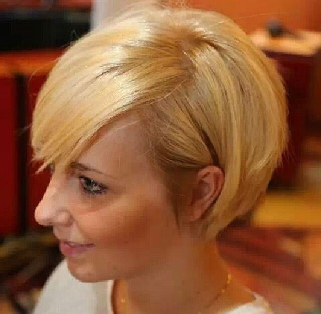 Love this grown out pixie bob!