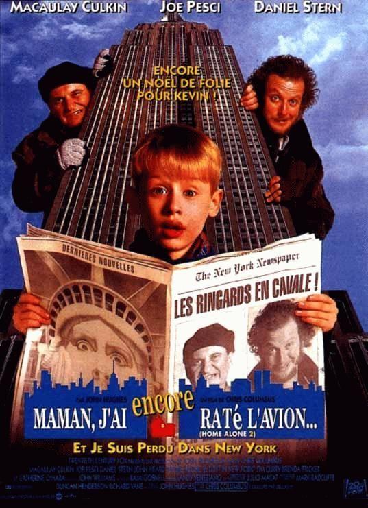 affiche du film Maman, j'ai encore raté l'avion... et je suis perdu dans New York