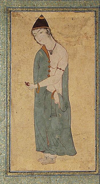 A Standing Dervish Iran, Isfahan, circa 1650