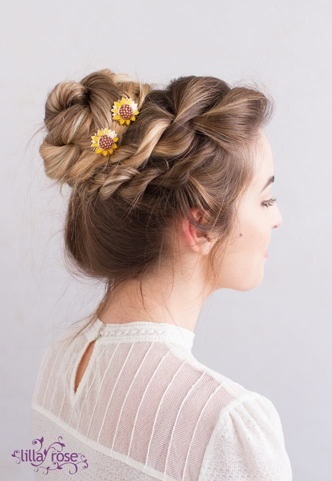 I love the sweet Sunflower You Pins that are coming out Nov 27!   http://coastalconservatory.com/beautiful-hair-in-seconds/
