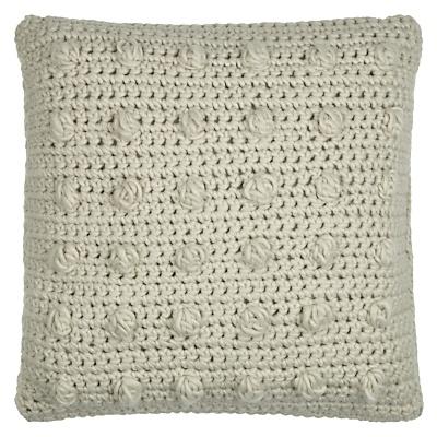 £25  Buy John Lewis Vita Cushion, Natural online at JohnLewis.com - John Lewis