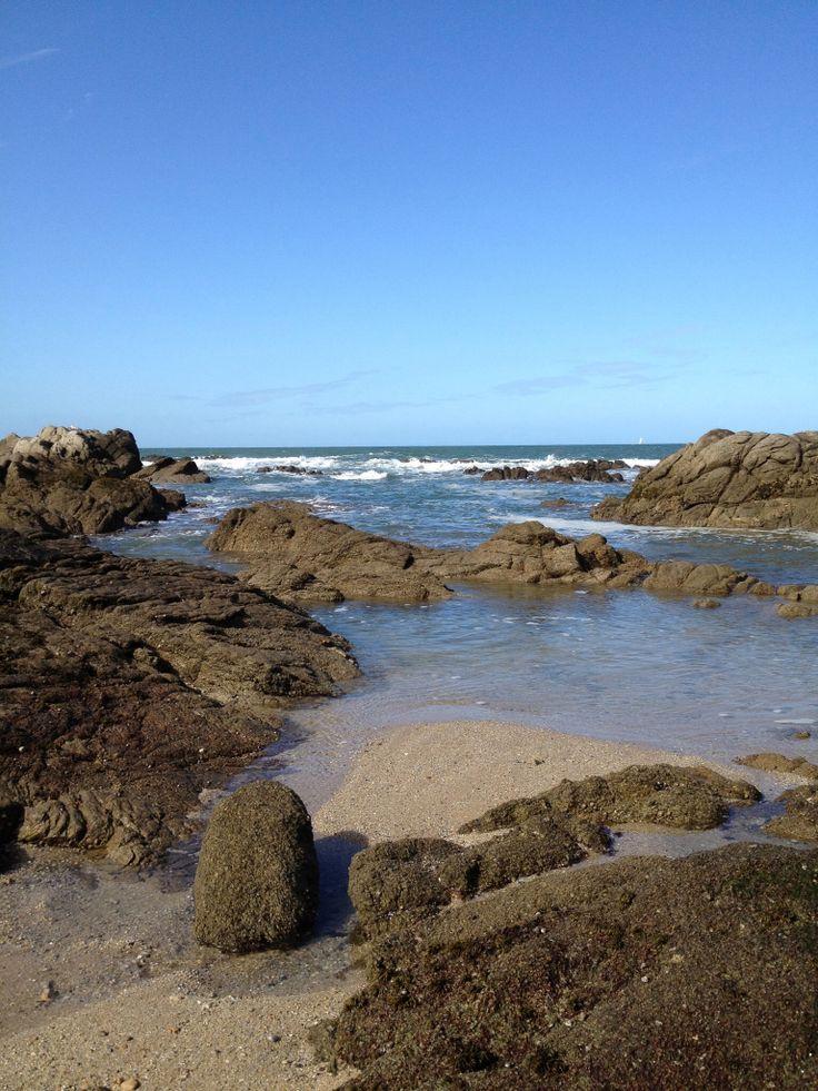 """Le Croisic, (de """"kroazig', la petite croix, en breton). Brittany"""