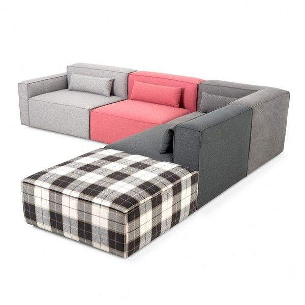 gus modern mix modular sectional 892 liked on polyvore featuring home furniture