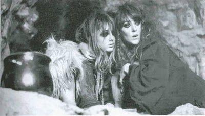 Vali Myers (right) & Caroline Thompson