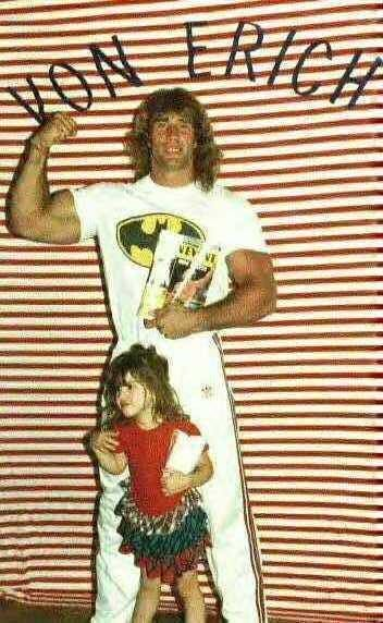 Kerry Von Erich & his daughter Hollie | Von erich | Pinterest