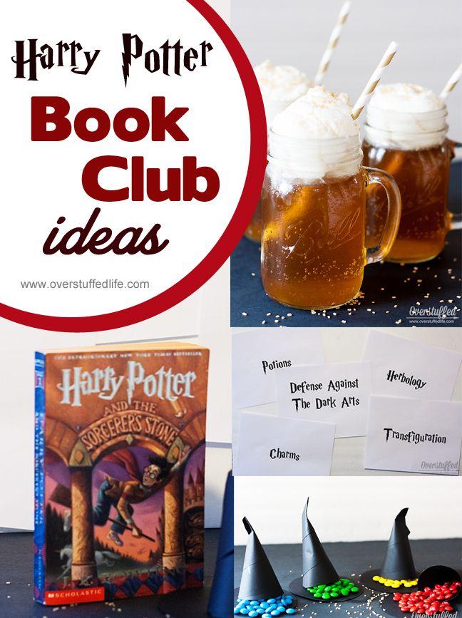 Harry Potter Book Club Ideas