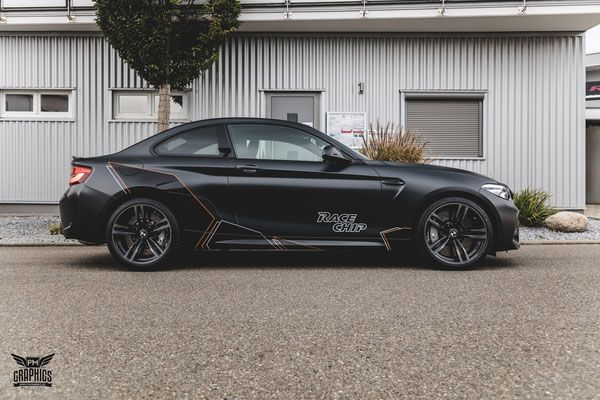 Bmw M2 Competition Silky Midnight Black Premium Wrapping With