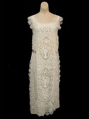 Lace tea dress 1920s