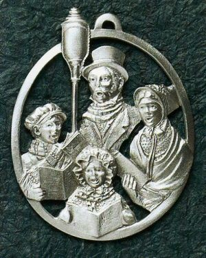 Family of Carolers Pewter Ornament $19.99 #MadeinUSA #MadeinAmeica #shopping