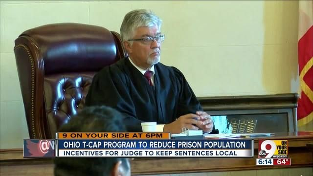 The T-CAP program pays counties not to send prisoners to overcrowded state institutions.