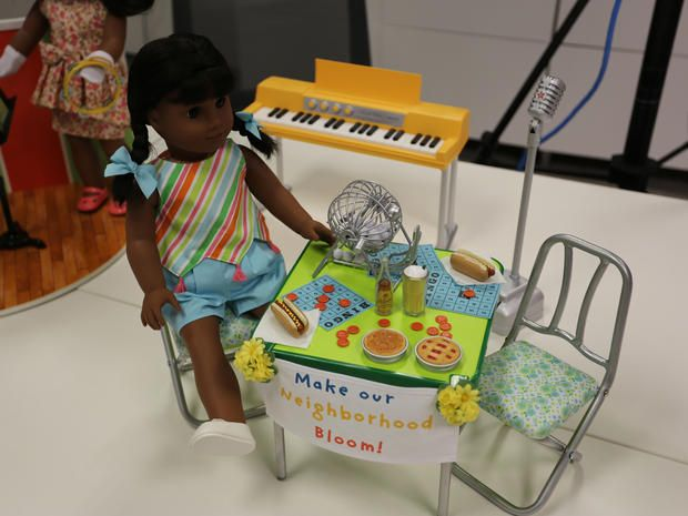 Go behind the scenes as the toymaker introduces a new doll: Melody, a '60s girl who loves music