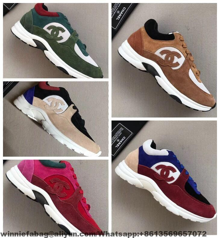 New Arrival For The Chanel Sneaker 2019 Leather Shoes Woman