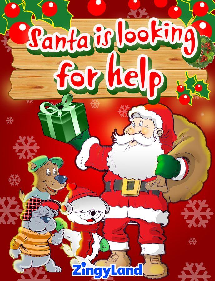 Santa is looking for help