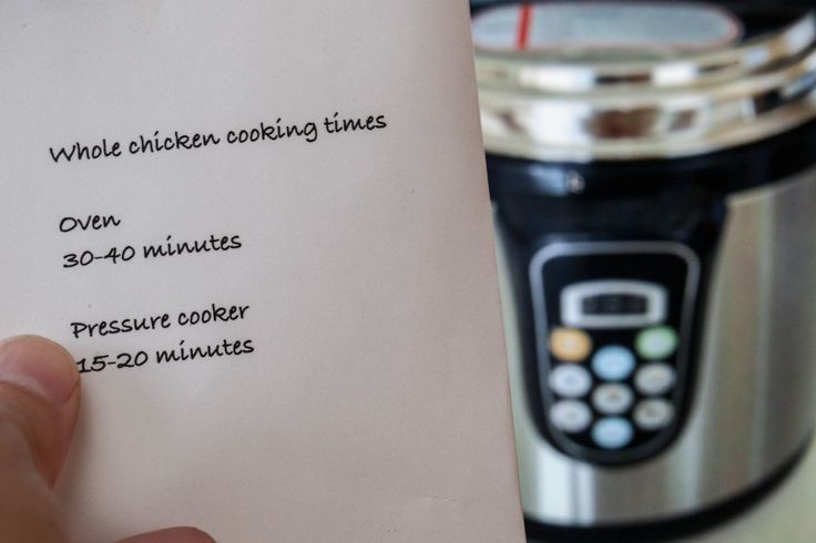 How to Convert Old Recipes for Electric Pressure Cooker